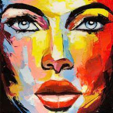 Kadın Yüzü Tablosu