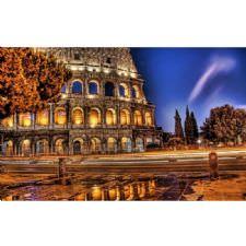 Roma Flavianus Amfi Tiyatro Tablosu