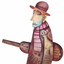 Üzgün Müzisyen Tablosu