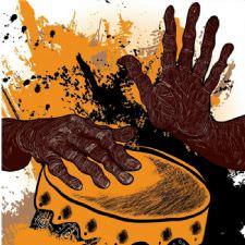 African Drummer Tablosu