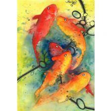 Altın Japon Balıkları Tablosu