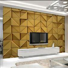 Altın Kareler Duvar Kağıdı
