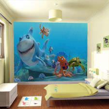 Akvaryumda Deniz Hayvanları Duvar Kağıdı