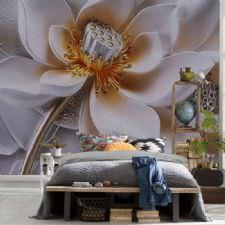 Büyülü Çiçek Duvar Kağıdı