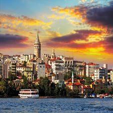 İstanbul Manzarası Duvar Kağıdı