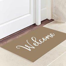 Krem Welcome Kapı Paspası