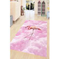 Hayal Flamingo Dijital Baskılı Halı