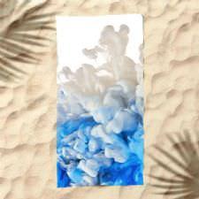 Renk Geçişli Dijital Baskılı Plaj Havlusu