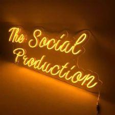 The Social Production Neon Led Aydınlatma