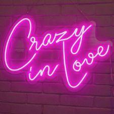 Crazy in Love Neon Led Aydınlatma