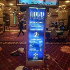 Nova Poker Stand Ayaklı Görselli Işıklı Light Box