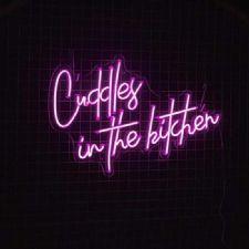 Cuddle in The Kitchen Neon Led Aydınlatma