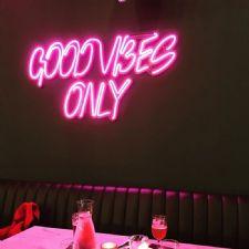 Good Vibes Only Neon Led Aydınlatma