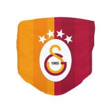 Galatasaray Logolu Kumaş Dijital Baskılı Maske